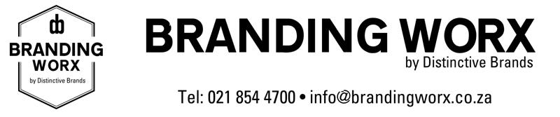 Branding Worx Tel: 021 854 4700