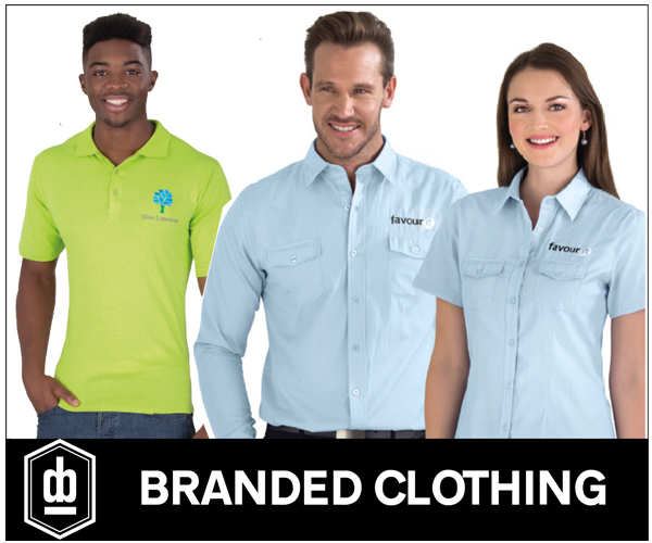 promotional clothing company branded clothing